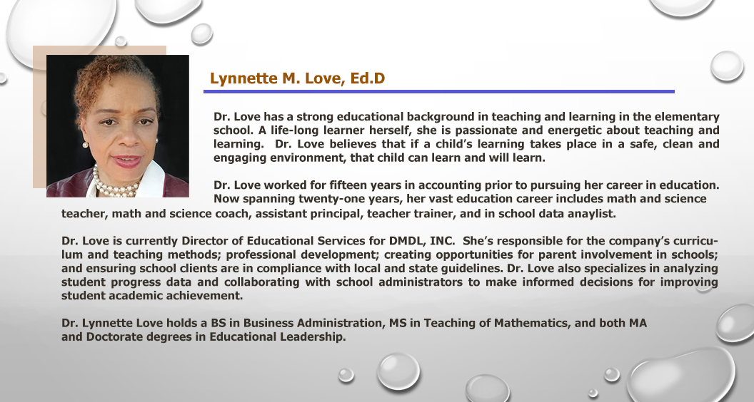 Dr. Lynnette Love